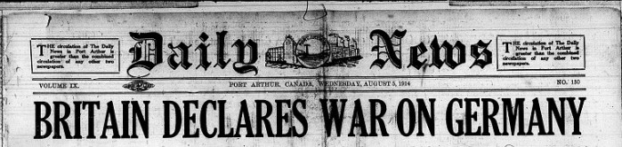 August 1914 Article Link