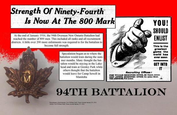 94th Battalion Recruitment Ad