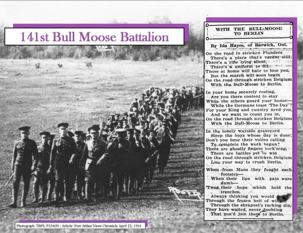 the bull moose poem
