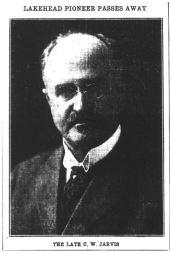 Charles Jarvis Story
