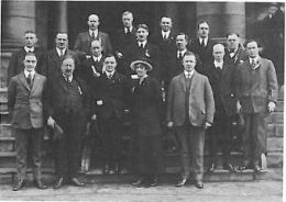 Guerin & Officers of GWVA Port Arthur July 1921