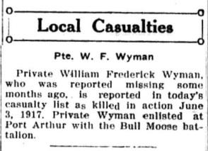 PANC February 8, 1918 - Wyman