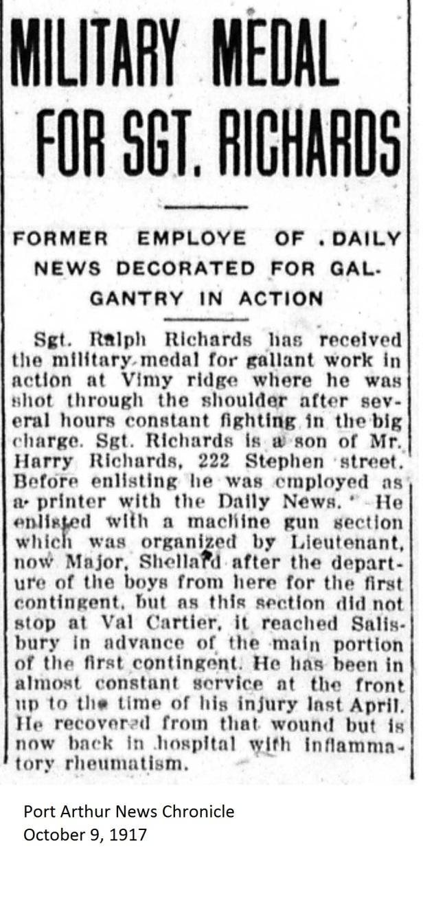PANC October 9, 1917 - Richards