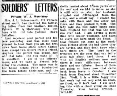 FWDTJ March 1, 1918 - Morrissey