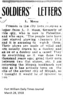 FWDTJ March 28, 1918 - Moon