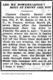 PANC April 19, 1918 - Banks