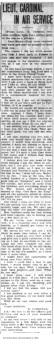 PANC March 2, 1918 - Cardinal