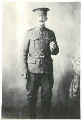 Percy William Gibbons circa 1916
