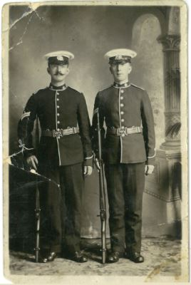 (left) Percy William Gibbons (right) Basil Ingram