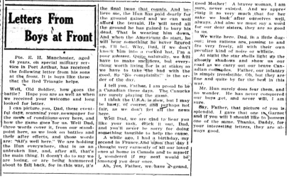 PANC May 4, 1918 - Manchester