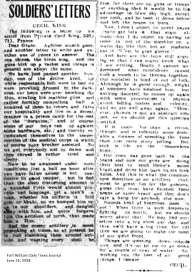 FWDTJ June 26, 1918 - King