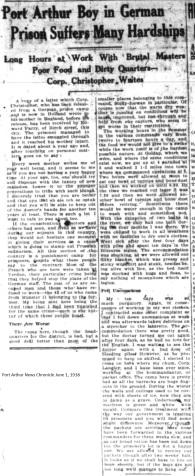 PANC June 1, 1918 - Christopher