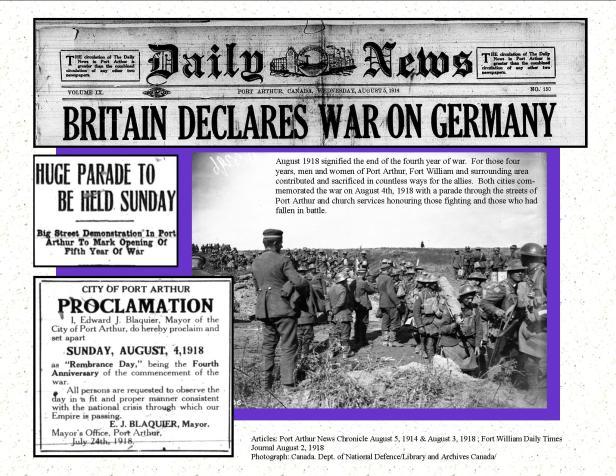 4th Anniversary of War