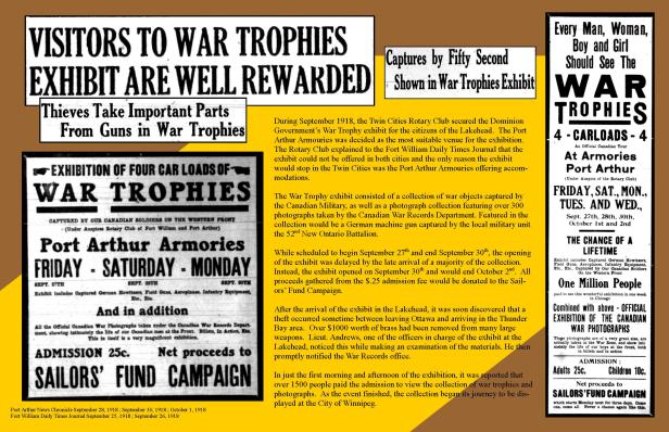 War Trophies Exhibition