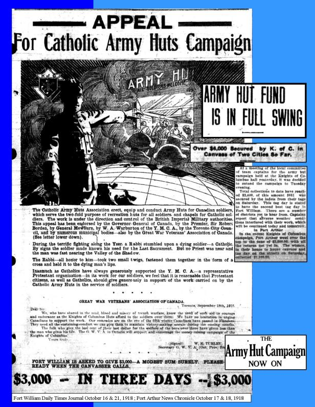 Army Hut Campaign