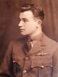 Photo of James Dickie. Contributed to Project by his granddaughter, Cathleen Gibson.