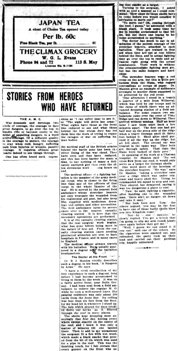 FWDTJ September 21, 1918 - Manion